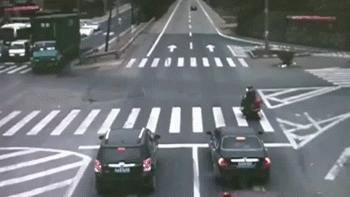 Wjazd na skrzyżowanie