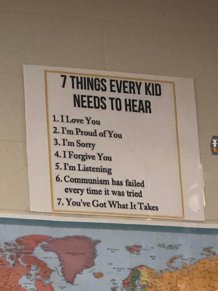 Wszystkie dzieci powinny o tym usłyszeć