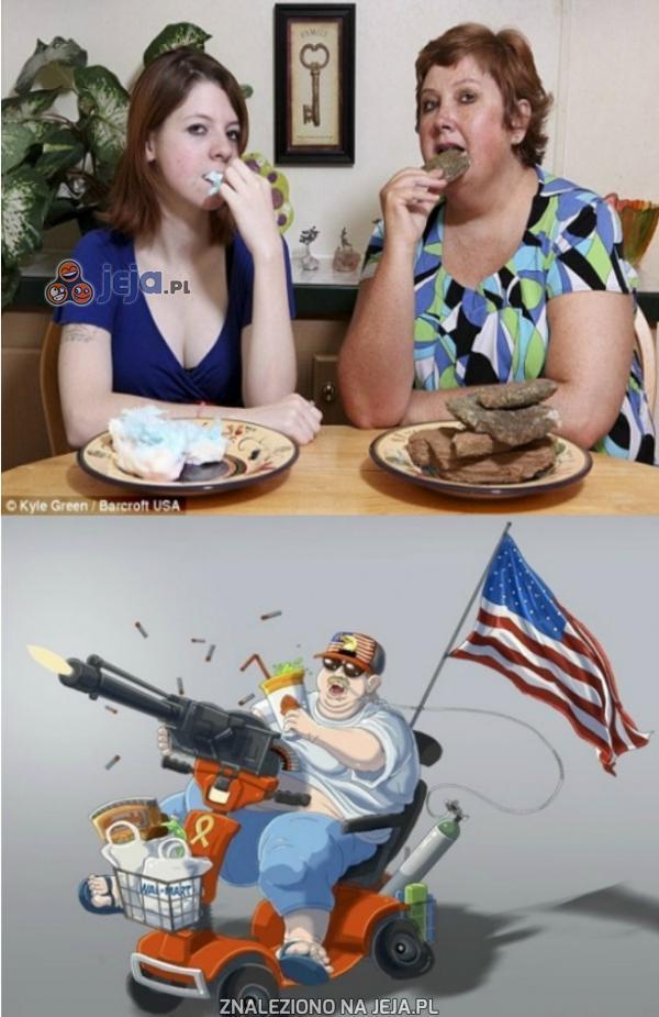Kobieta jedząca kamienie