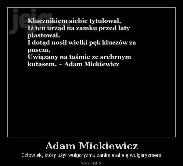 Adam Mickiewicz Jejapl