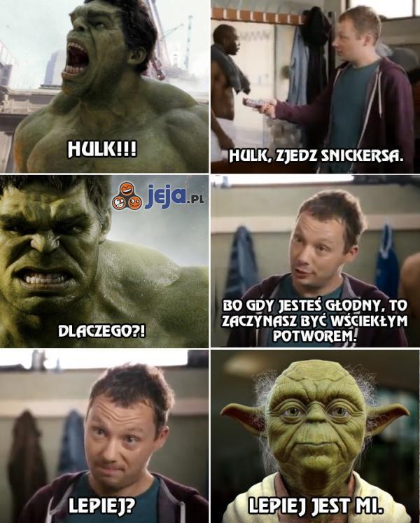 Hulk, zaczynasz gwiazdorzyć