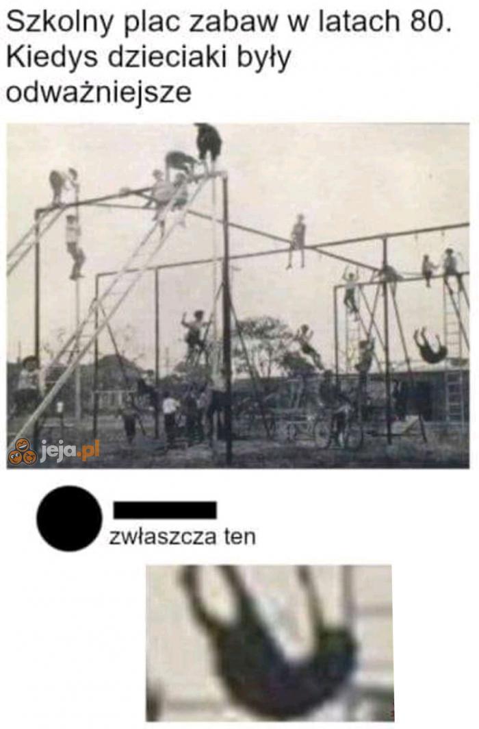 Wyjątkowo odważny dzieciak