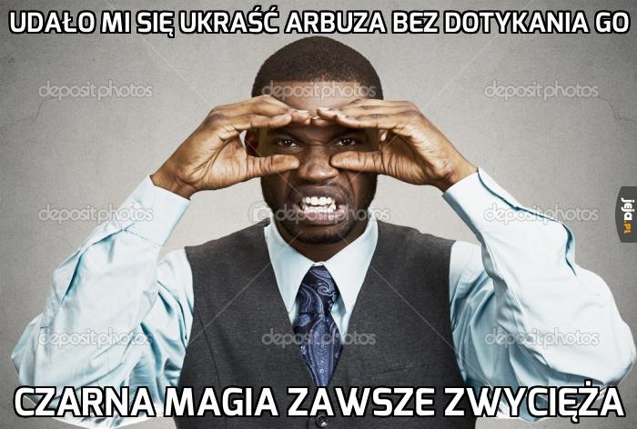 Czarna arbuzowa magia