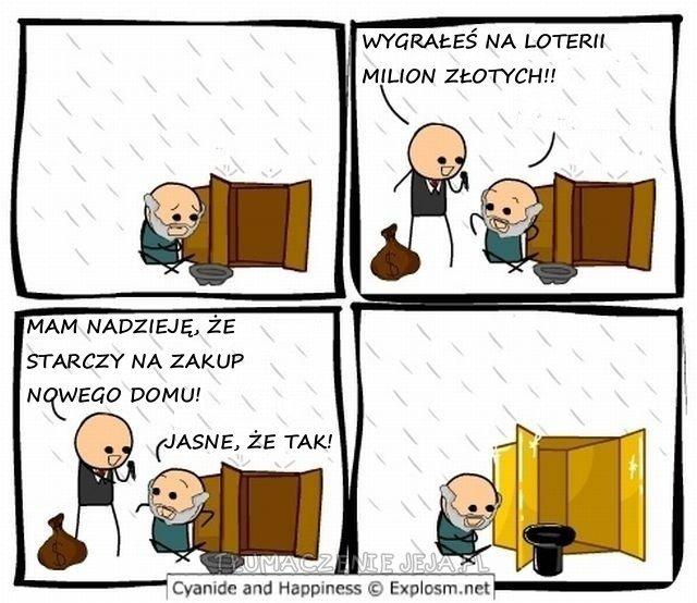 Wygrana na loterii