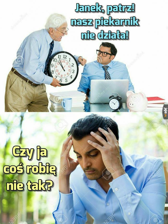 A może to rzeczywiście nie jest zegar?