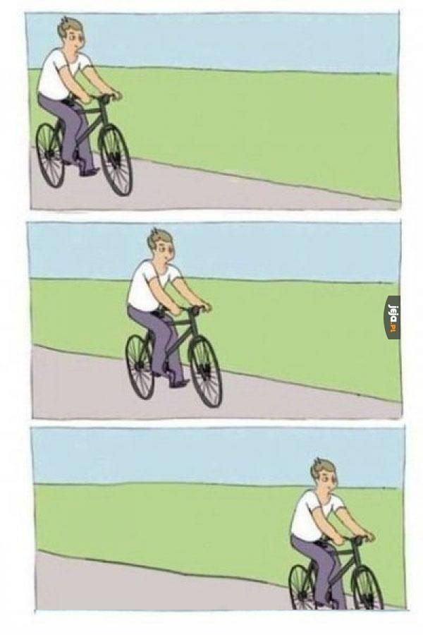 Nie ma to jak przejażdżka na rowerze