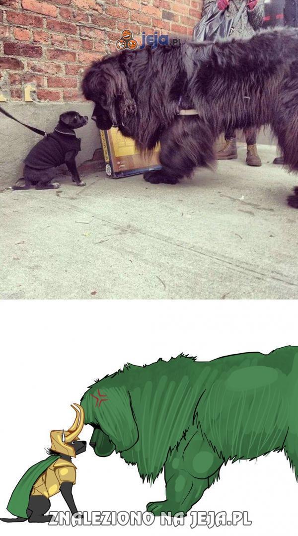 Hulk ugryźć!