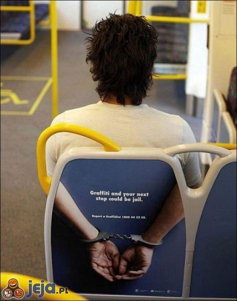 Siedzenie pułapka w autobusie