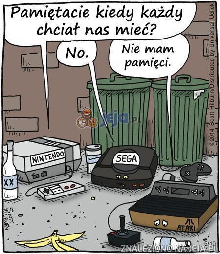Wspomnienia starych konsol
