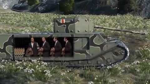 Typowy czołg