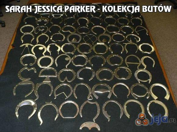 Sarah Jessica Parker - kolekcja butów