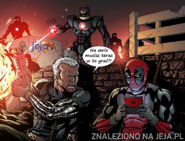 Typowe zagranie Deadpoola
