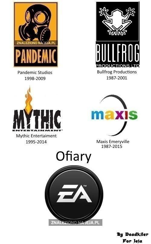 EA niszczy kolejne studia!