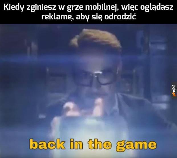 Wracam do gry