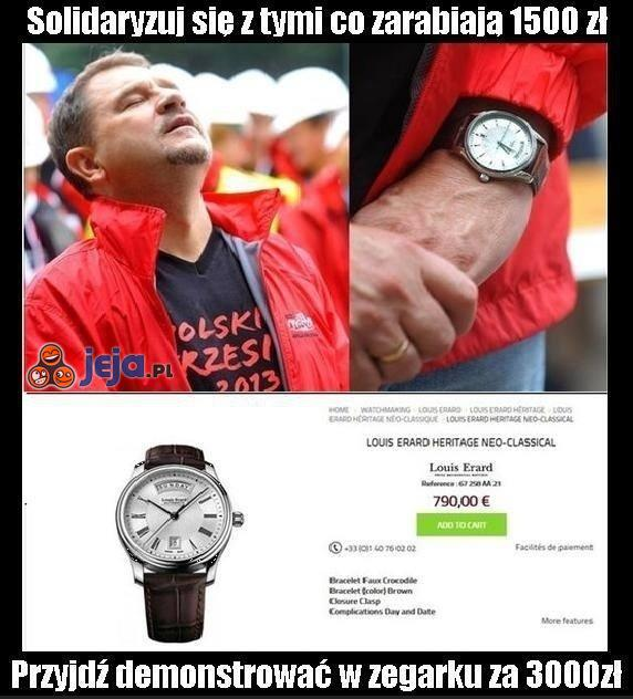 Kosztowny zegarek