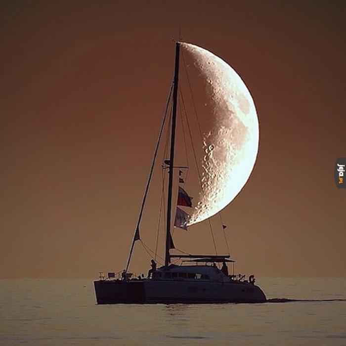 Księżycowy żeglarz