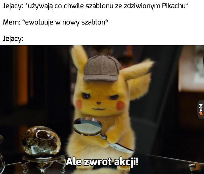 Szablony się zmieniają, Pikachu zostaje