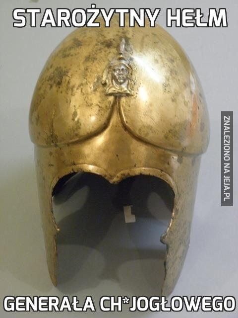 Starożytny hełm