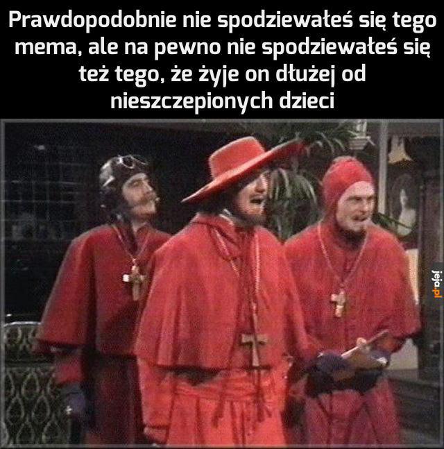 Hiszpańska Inkwizycja?
