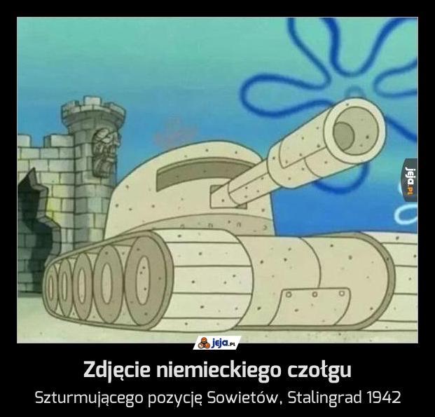 Zdjęcie niemieckiego czołgu