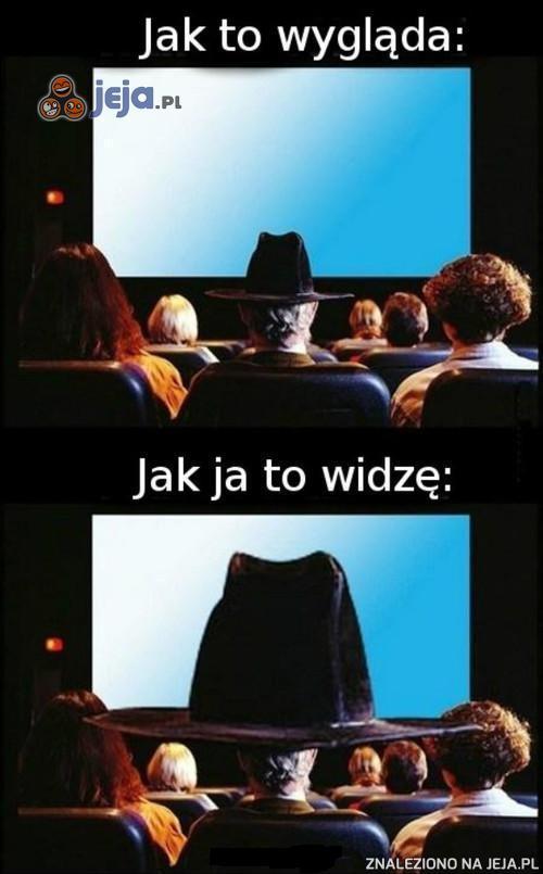 Kapelusz w kinie