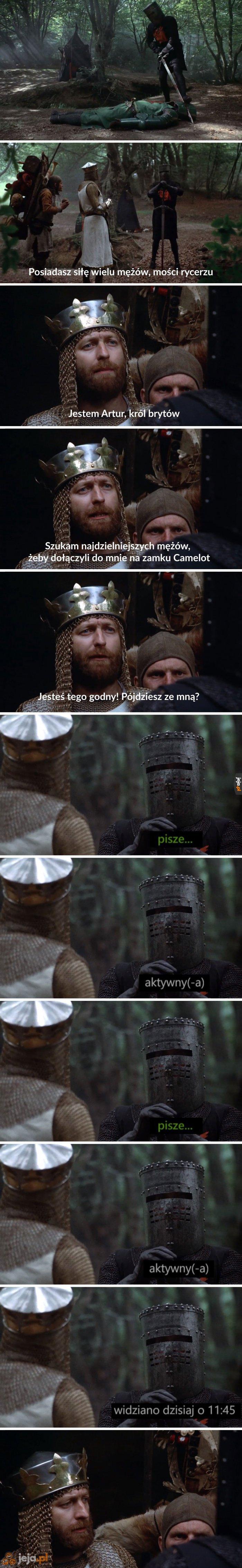 Przygód króla Artura ciąg dalszy