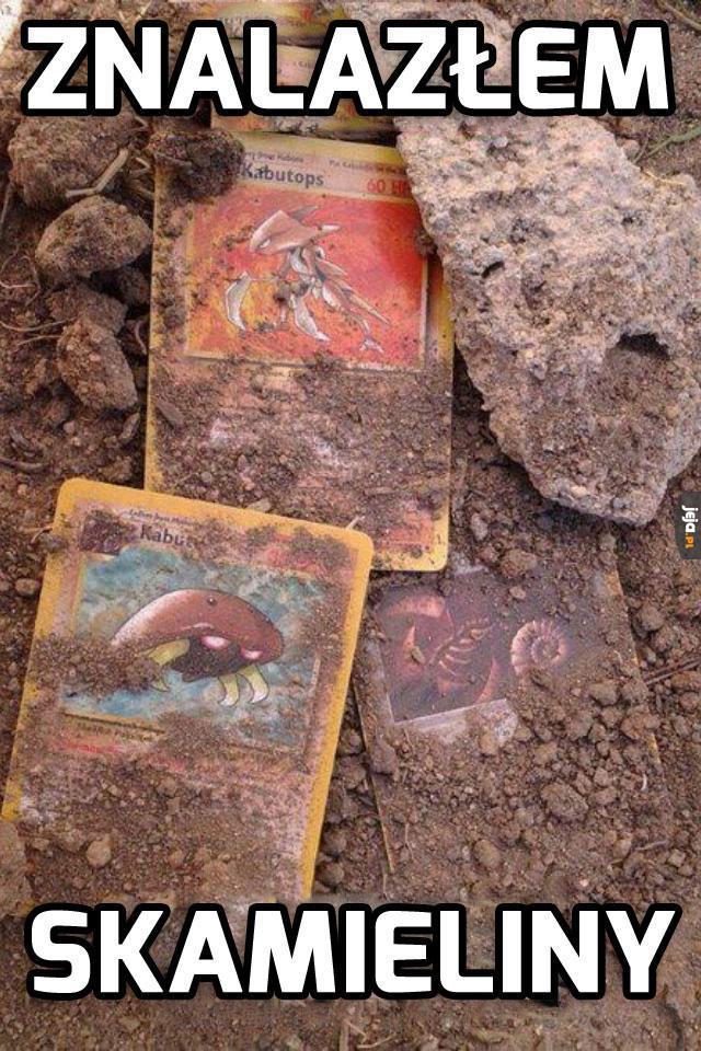 Znalazłem skamieliny!
