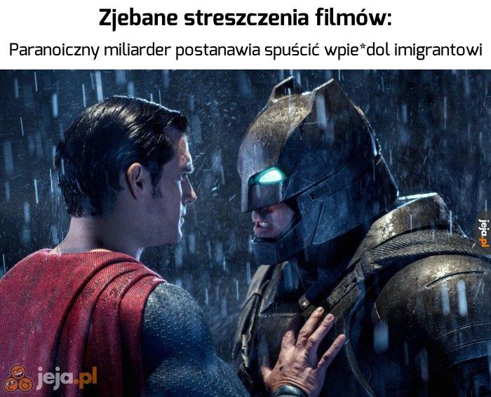Batman jest nietolerancyjny