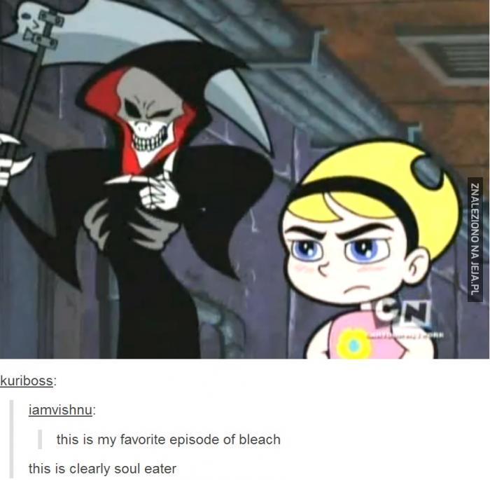 Ulubiony odcinek Bleach