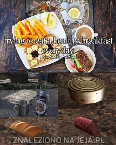 Codziennie zdrowe śniadanie