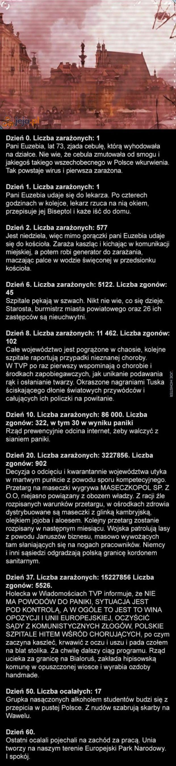 Epidemia w Polsce