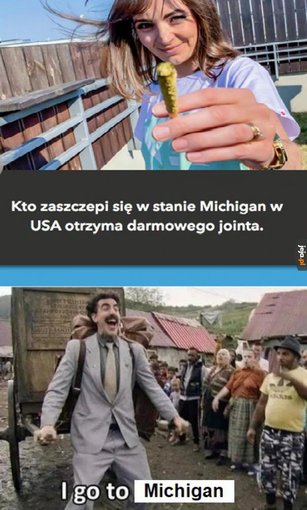 W Polsce możesz jedynie dostać symptomy poszczepienne