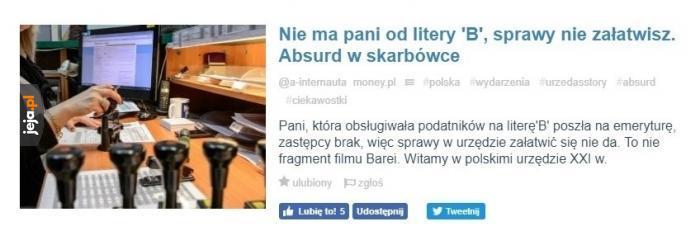 Kochana biurokracja