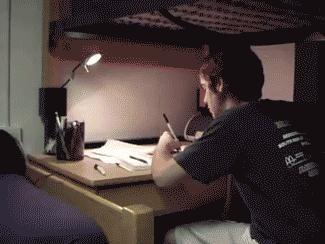 Gdy próbuję odrabiać lekcje