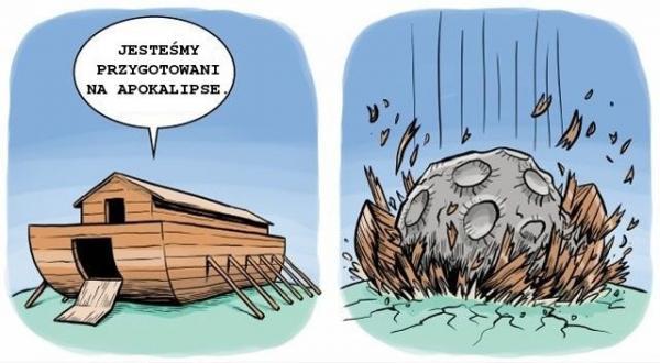 Tym razem arka nie wystarczy...
