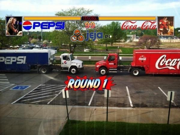 Starcie gigantów - Pepsi vs Cola