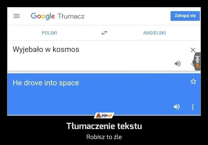 Tłumaczenie tekstu