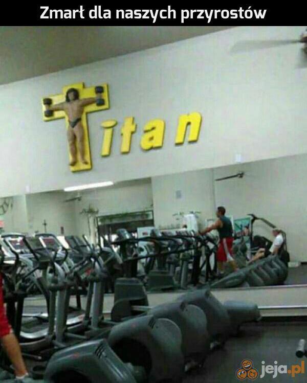 Pokój jego mięśniom