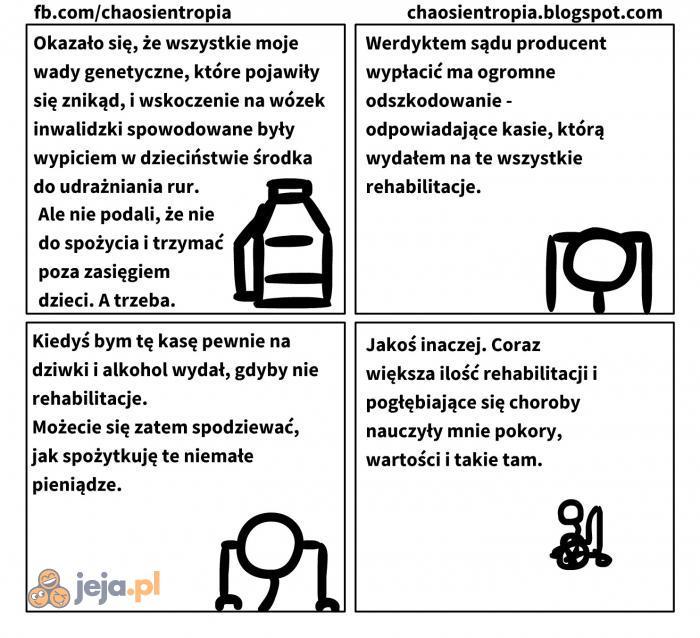 Wyznanie niepełnosprawnego