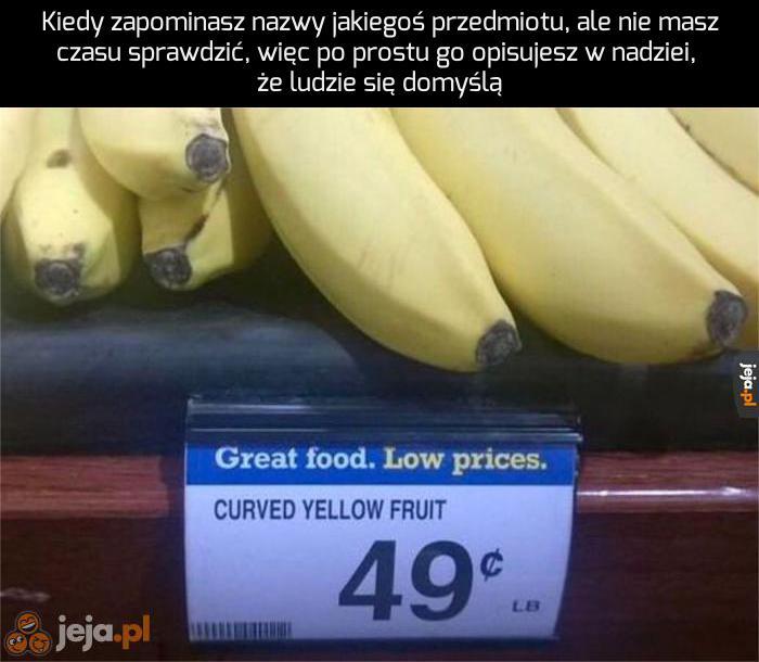 Żółty, pogięty owoc? To pewnie karambola!