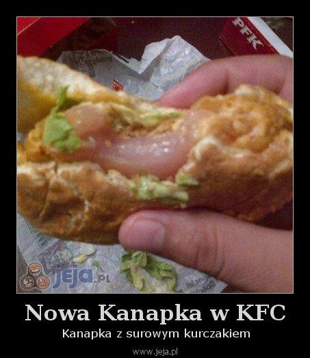 Nowa Kanapka w KFC