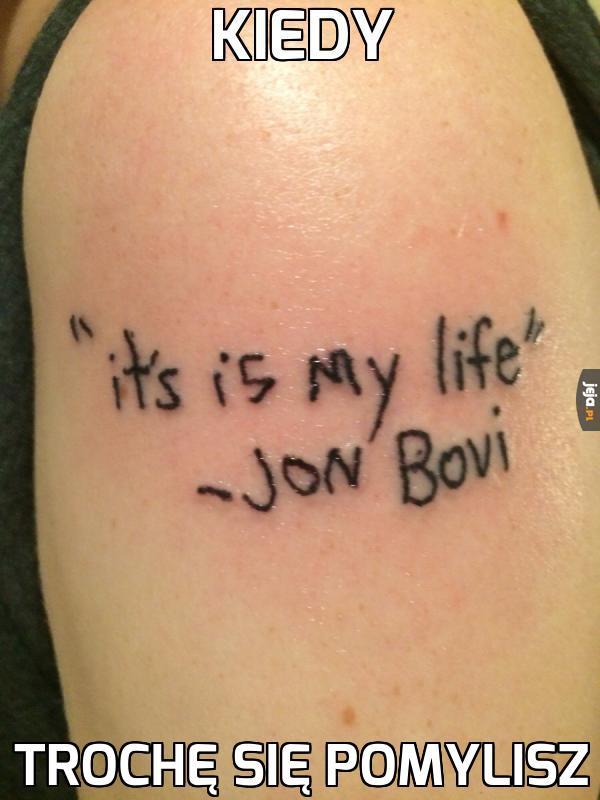 Nigdy więcej tatuaży po pijaku