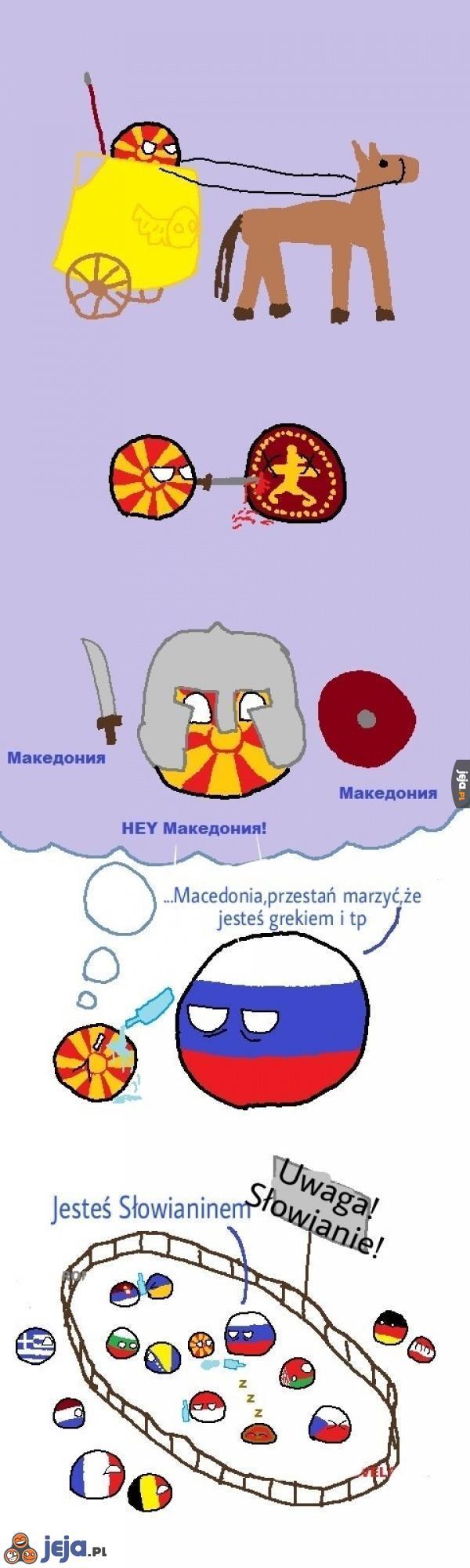 Pochodzenie Macedonii