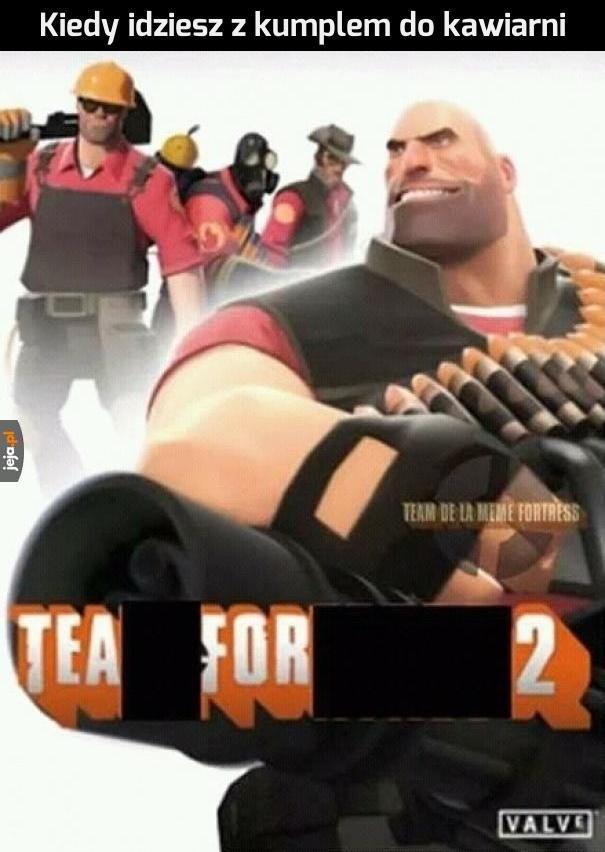 Herbatka zawsze na propsie