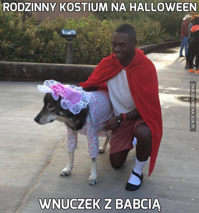 Rodzinny kostium na Halloween