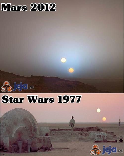 Twórcy Gwiezdnych wojen pochodzą z Marsa
