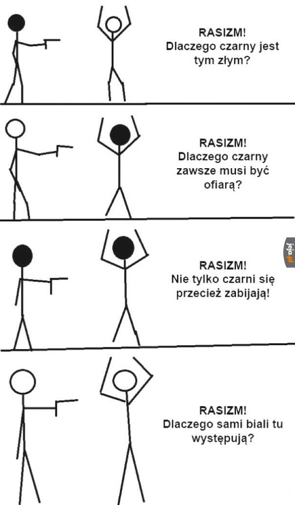 Rasizm, wszędzie rasizm