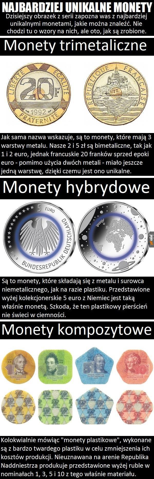 Najbardziej unikalne monety
