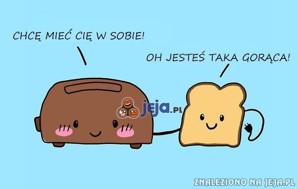 Pani tosterowa i pan tost
