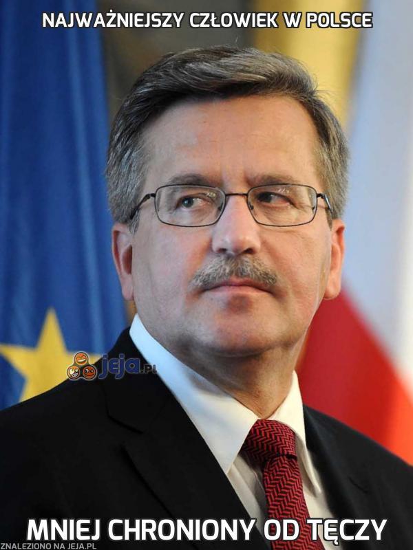 Najważniejszy człowiek w Polsce